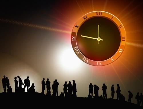 Die Zeit vergeht und kommt nie mehr zurück